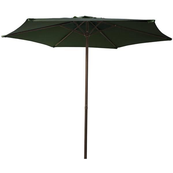 7.5' Green Steel Market Umbrella
