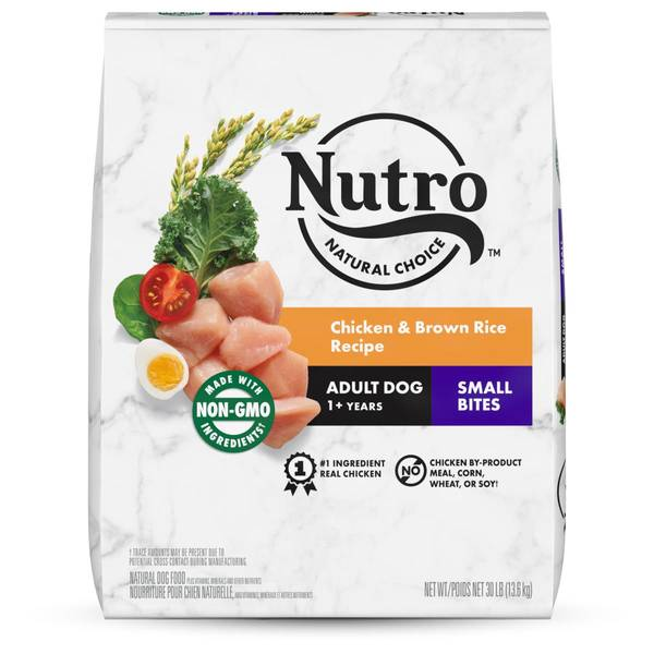Nutro 30 Lb Wholesome Essentials Small Bites Adult Dry Dog Food