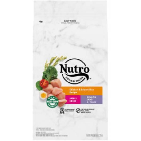 5 lb Wholesome Essentials Small Breed Senior-Chicken/Brown Rice/Sweet Potato