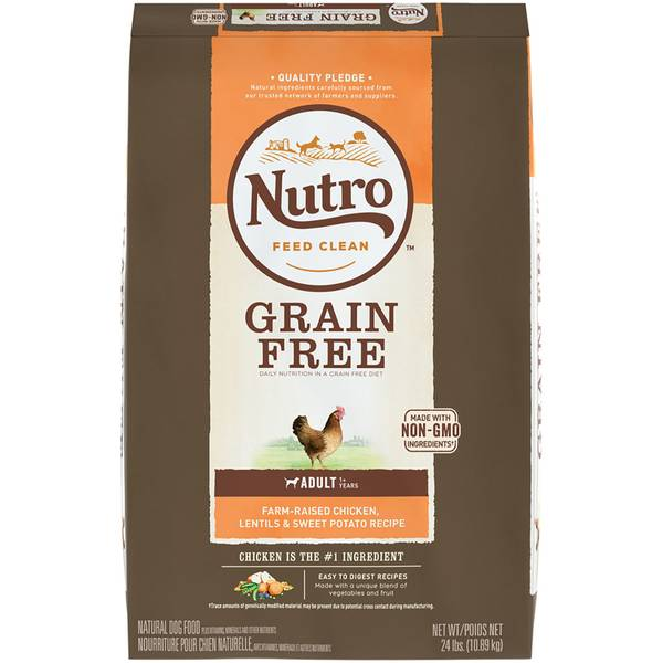24 lb Grain Free Adult Dry Dog Food