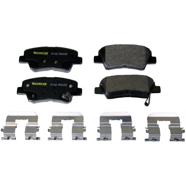 TotalSolution Semi-Metallic Brake Pads