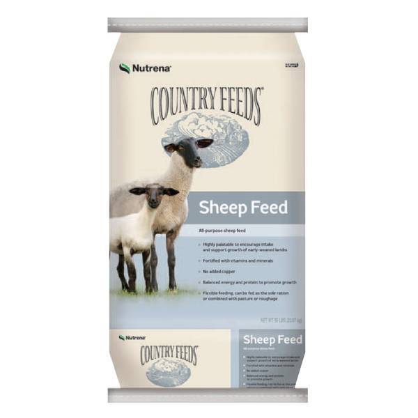 Country Feeds 16% Pelleted Sheep Feed - Medicated with Bovatec