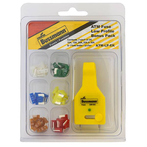 ATM Low-Profile Mini Blade Fuse Kit