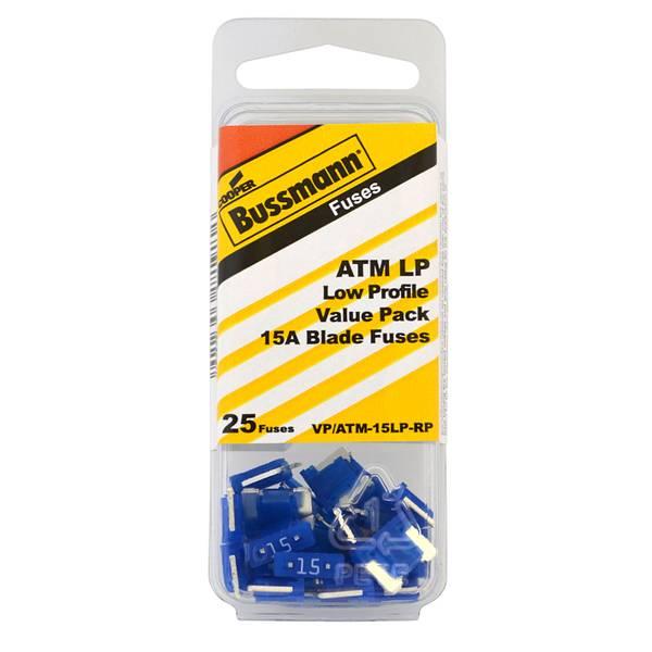 ATM-15LP 15A Fuse Bulk Pack