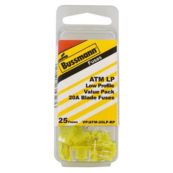 ATM-20LP 20A Fuse Bulk Pack