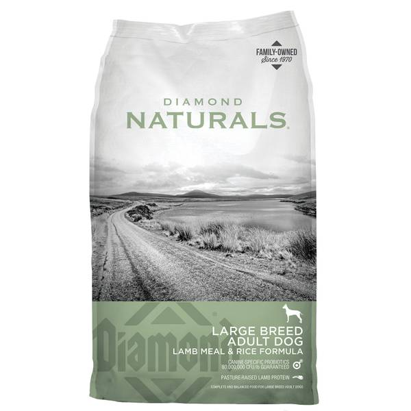 Naturals Large Breed Adult Dog Lamb Meal & Rice Formula Dog Food