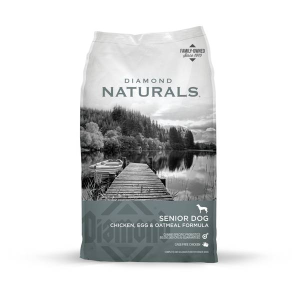 Naturals Senior Dog Chicken, Egg & Oatmeal Formula Dog Food