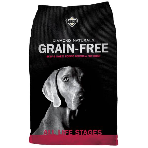 Naturals Grain-Free Beef & Sweet Potato Formula for Dogs
