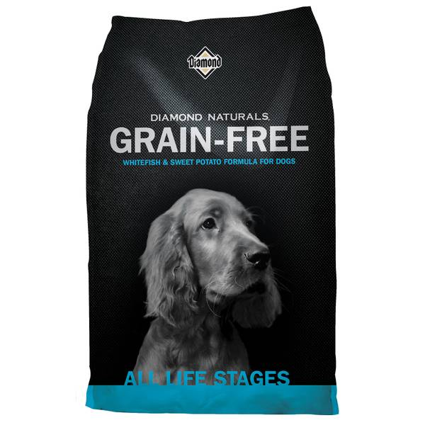 Naturals Grain-Free Whitefish & Sweet Potato Formula for Dogs