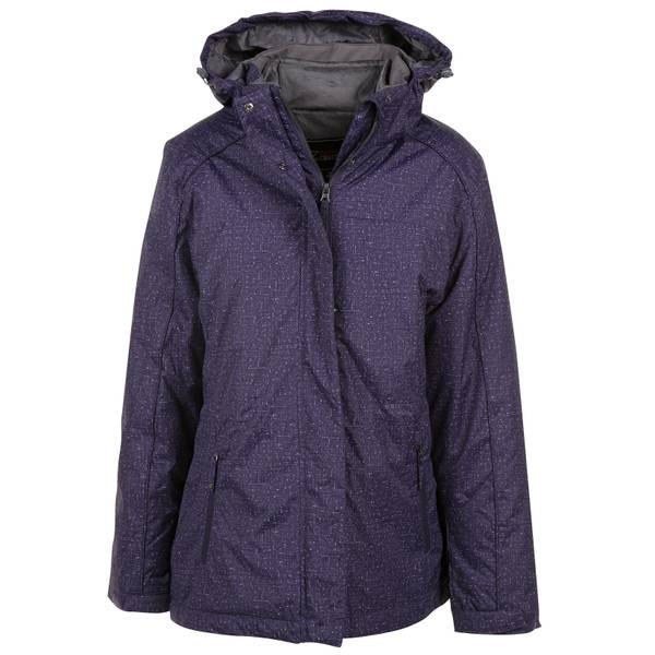 Women's 3-in-1 Print Inset Jacket
