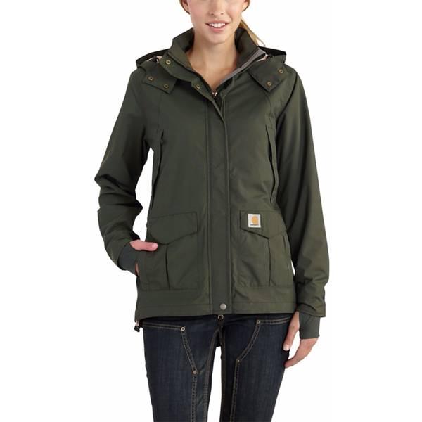 Misses Olive Shoreline Jacket