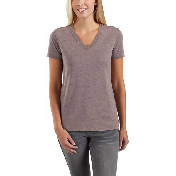 Misses Lockhart Short Sleeve V-Neck Tee