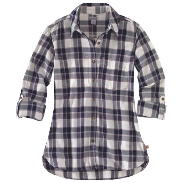 M MS Fairview Plaid Shirt Blue Night