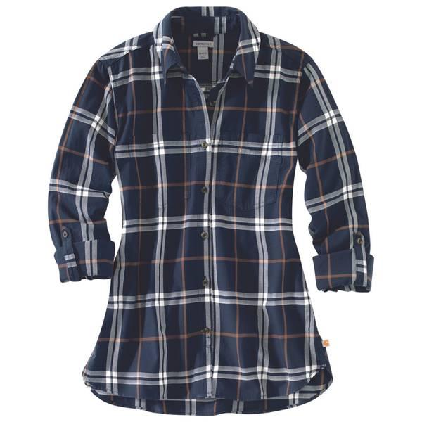Women's Fairview Plaid Shirt Blue Night