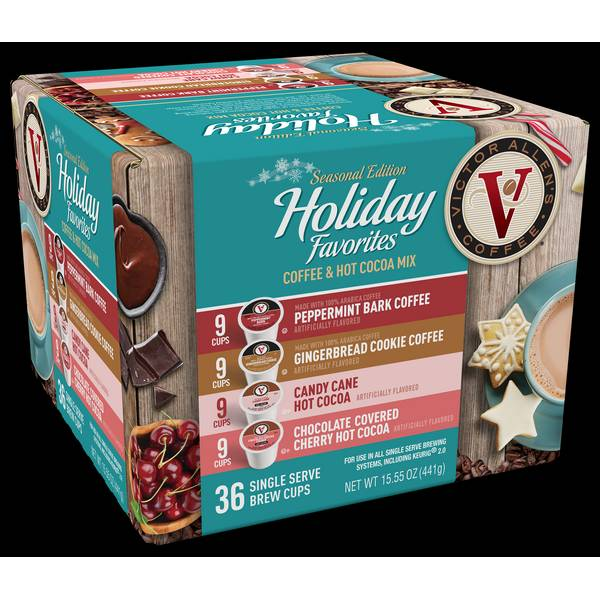 Victor Allen's Coffee Holiday Favorites Variety Pack