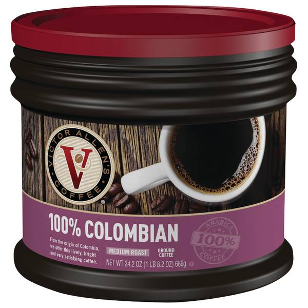 100% Colombian Ground Coffee