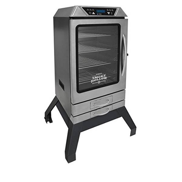 "40"" Bluetooth Digital Electric Smoker with Stand"