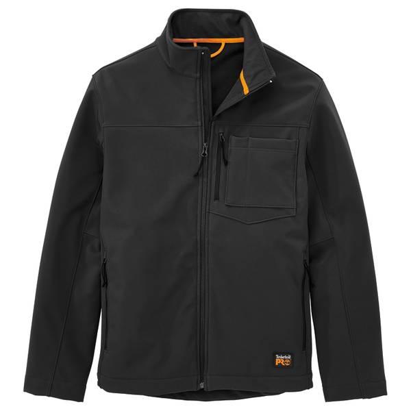 Men's Power Zip Windproof Softshell Jacket
