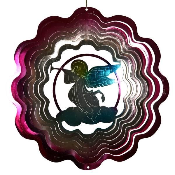 Angel Spiral Wind Spinner