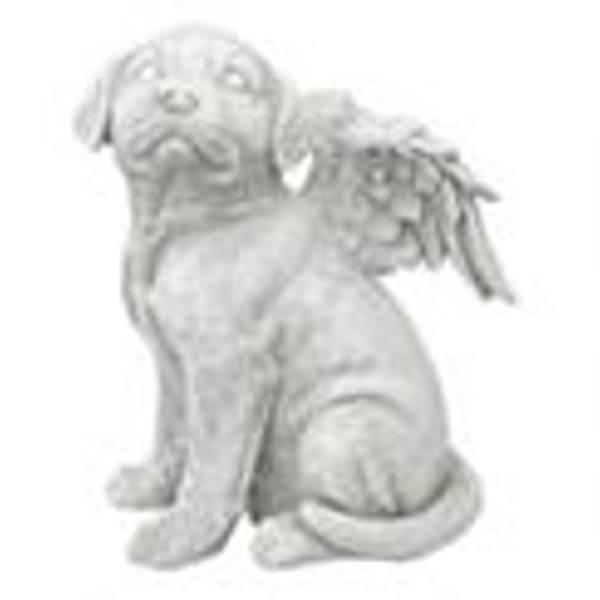 Design ToscanoLoving Friend Pet Memorial Dog Statue