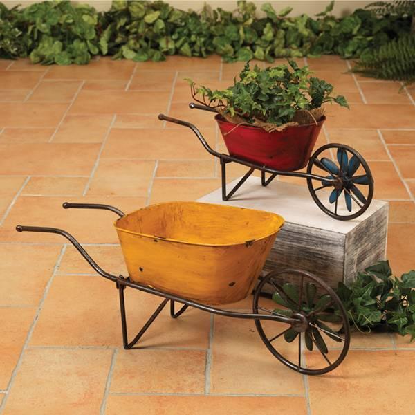 Small Antique Wheelbarrow