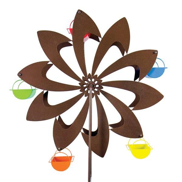 Bronze Pinwheel Ferris Feeder