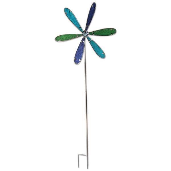 """39"""" Blue Pinwheel"""