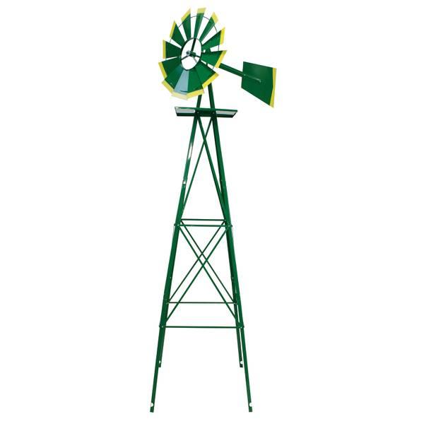 8' Green & Yellow Windmill