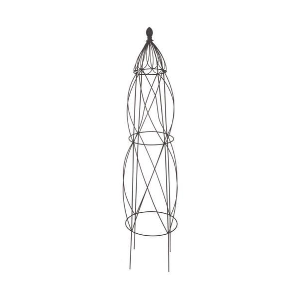 """51"""" Black Vibrant Diamond Obelisk"""