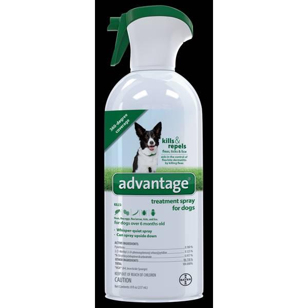 8 oz Advantage Treatment Spray for Dogs