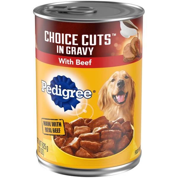 22 oz Choice Cuts Beef Dog Food