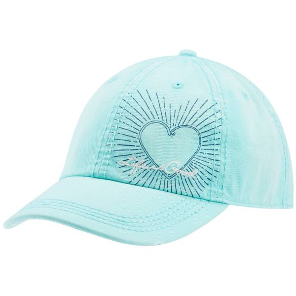 Misses Hearts Sunwashed Chill Cap