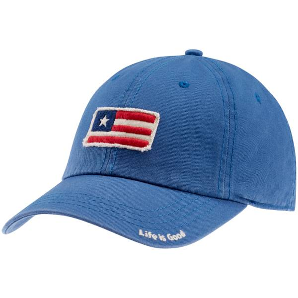 Misses Blue Tattered Chill Cap
