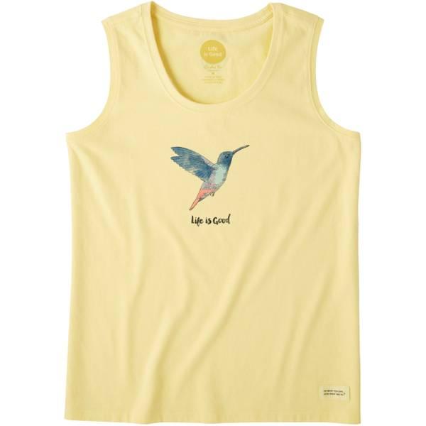 Misses Hummingbird Sleeveless Crusher Tanktop