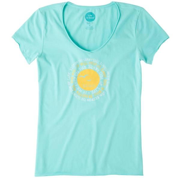 Misses Sunny Side Short Sleeve Tee