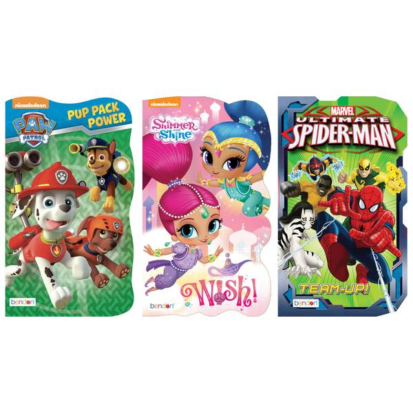 Licensed Board Book Assortment
