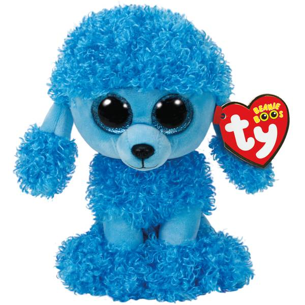 Beanie Boo Mandy the Blue Poodle
