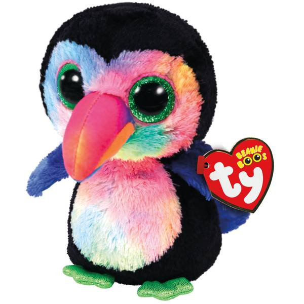 Ty Beanie Boo Beaks The Toucan
