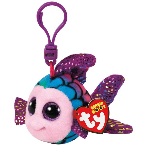 Beanie Boo Clip Flippy the Rainbow Fish