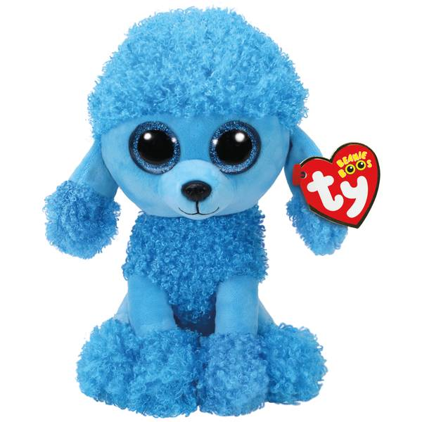 Beanie Boo Med Mandy the Blue Poodle