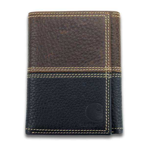 Black & Brown Two Tone Wallet