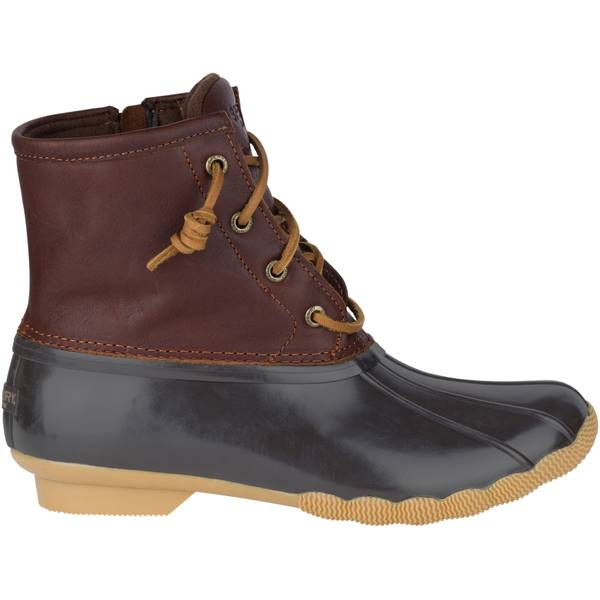 Women's Tan & Dark Brown Saltwater Boots