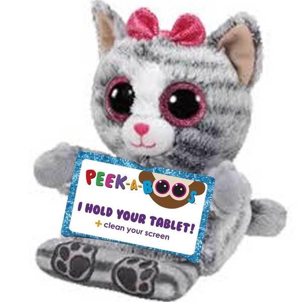 Peek-A-Boos Molly The Gray Cat