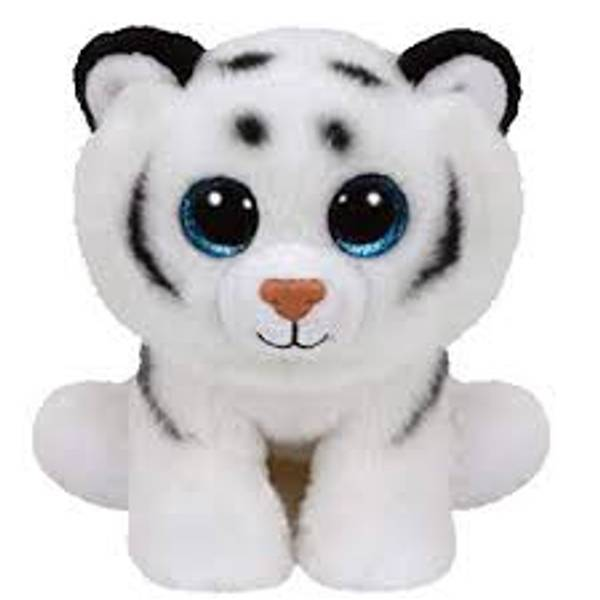 Beanie Baby Large Tundra The White Leopard