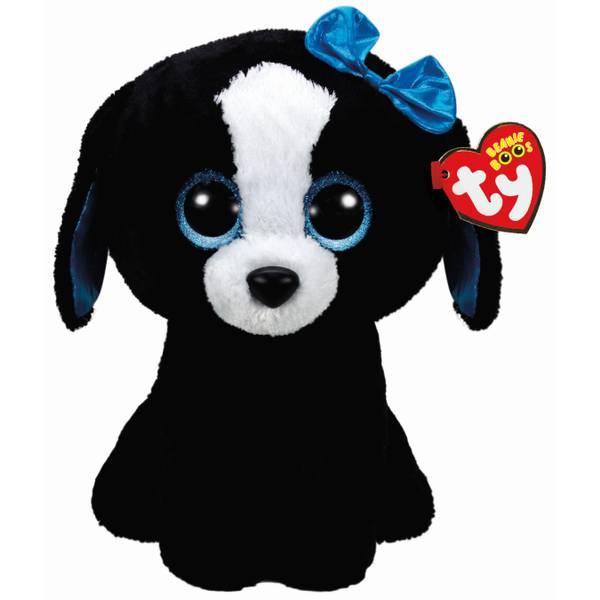 Beanie Boos Black and White Dog