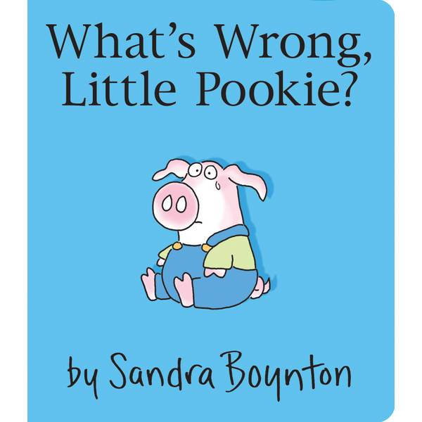 What's Wrong Little Pookie Board Book