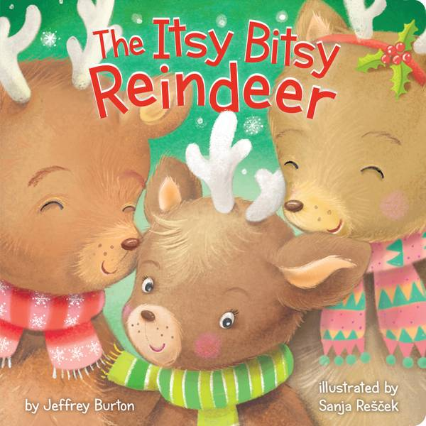Itsy Bitsy Reindeer Board Book