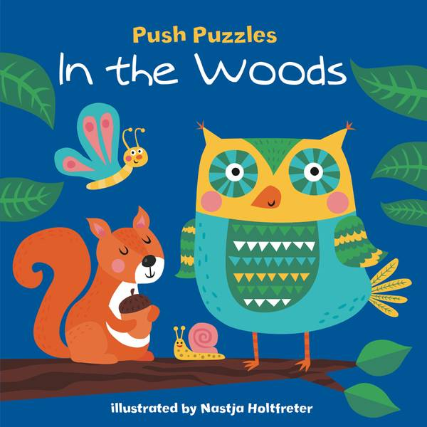 Push Puzzles In the Woods Book