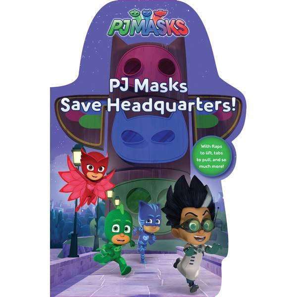 PJ Masks Save Headquarters Book