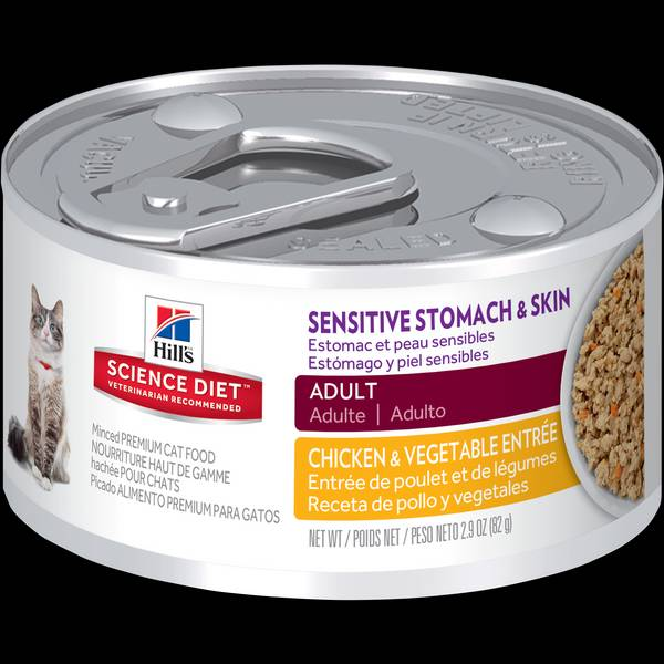 2.9 oz Science Diet Sensitive Stomach & Skin Cat Food